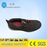 스포츠 가벼운 강철 발가락 안전 신발