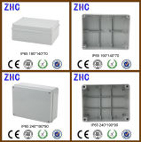 Caixa de junção durável da venda quente com a caixa à prova d'água do ABS plástico elétrico da glândula de cabo IP65