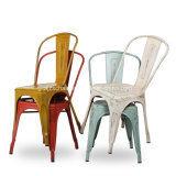Vintage промышленных жалкую шикарных ресторанов стул Zs-T01
