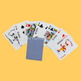 Tarjetas que juegan negras Finished de lino del papel de base para el casino