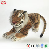 Simulação Jumbo Sitting Tiger Animal Realistic Soft Stuffed Toy