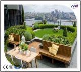 屋上庭園の反ルートPVC防水膜