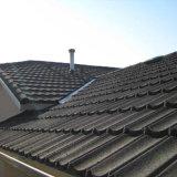 Вилла водонепроницаемый крыши крыша оформление металлического цвета каменной плиткой