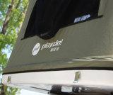 ガラス繊維の屋根の上の堅いシェルのキャンピングカートレーラーのテント