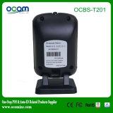 Ocbs-T201 2 바탕 화면 Laser Omidirectional 제 2 Barcode 스캐너