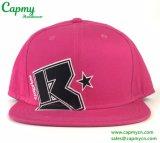 Surtidor rosado del sombrero del casquillo del Snapback del algodón