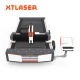 Tagliatrice del laser della fibra dei piatti di metallo di CNC 500W 750W 1000W con la sorgente di laser tedesca della fibra