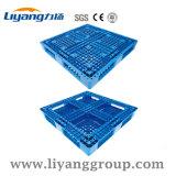 Modelo Lytw-1210C Anti- Slip convés fechado da base de paletes de plástico para venda
