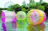 Надувной Водный Парк Водных ролик, надувные воды опрос ролик гигантские красочные надувные ролик с Производителем
