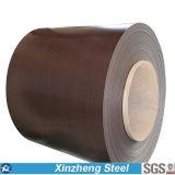 Chapa de aço revestida do aço PPGI de PPGI/Color nas bobinas para a telhadura