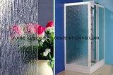 L'acide givré transparent décoratif de satin de qualité a repéré la glace pour la porte de salle de bains