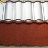 Les matériaux de construction en pierre de couleur à haute résistance les tuiles du toit de métal