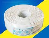 cable coaxial profesional del producto RG6 de la fabricación 20years con el Ce, RoHS