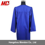 Graduation mate d'uniformes d'enfants de bleu royal