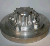 La madera pequeña máquina de corte CNC dispone de un funcionamiento práctico (la mitad de protección)