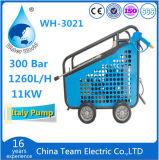 Máquina da limpeza do carro elétrico com a arruela da alta pressão do agregado familiar