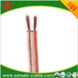Transparente das Doppelkabel, Belüftung-elektrischer Draht, 2X1.5mm elektrisches kabel sprechen Kabel