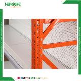 Для тяжелого режима работы склада на гондоле полок для установки в стойку для хранения
