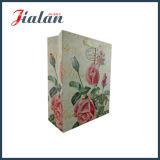 인기 상품 좋은 광택이 없는 꽃 디자인 종이 선물 부대