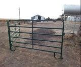 С покрытием черного цвета 5 ftx10футов лошадь Corral панель/домашний скот крупный рогатый скот панели