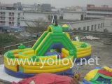 Cheap Commercial Hight Word gonflable Dry Slide