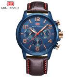 Mini-concentrar o logotipo personalizado relógio de pulso de quartzo automática para homens