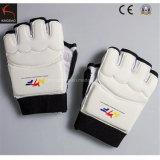 Истребитель боевым искусством перчатки Taekwondo стороны рампы оборудования