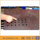 Máquina de perfuração hidráulica pesada especial do CNC da placa de aço