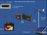 Gerador de turbina horizontal do vento do ímã permanente de 700W 24V para a venda