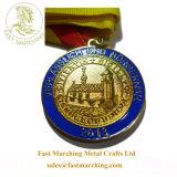 習慣はフィニッシャーメダル工場価格のGanas賞の円形浮彫りをカスタマイズした