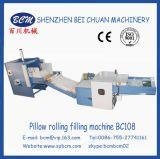 Macchina di rifornimento del cuscino con la fibra di poliestere come la materia prima in Cina