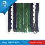 #3 #5 #8 Puller feito sob encomenda Eco-Friendly Plastic Zipper para Garments