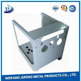 Kundenspezifischer Stahl-stempelndes und verbiegendes Chassis-Shell mit der Galvanisierung