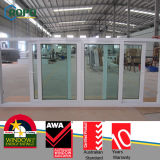 PVC Windows scorrevole, doppio Windows lustrato di plastica