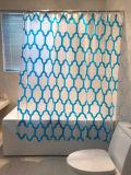 Il diamante blu quadra la tenda di acquazzone per la stanza da bagno