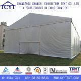 Tenda de armazenamento de armazenamento de alumínio impermeável em PVC transparente