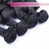 Cheap Double appelée Remy Hair Extensions de cheveux brésiliens de trame vierge