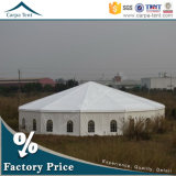 Luxurious Clear Span Structures Shelter Pavilion Fabric Wall Cover Multi-Sided Tent