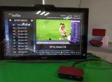 Миниая коробка красного цвета IPTV Android с свободно каналами Arabic спортов Bein