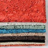 Tessuto ricamato del nuovo poliestere di disegno 2018 per il vestito e l'indumento