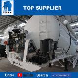 タイタンの手段-使用されたセメント・サイロタンク55バルクセメントのトレーラーの大きさの半トレーラーのセメントのトレーラーの価格