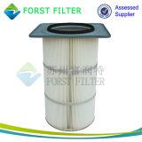 Forst que substituye el cartucho de filtro del compresor de aire de Torit