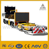 도로 안전 차량에 의하여 거치된 변하기 쉬운 메시지는 색깔 Vms를 서명한다