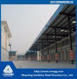 Структура Prefab низкой стоимости проектирования промышленного объекта стальная для пакгауза хранения