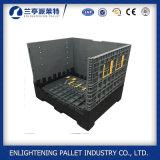 Serviço Pesado 4ton Caixa dobrável de plástico de capacidade de carga