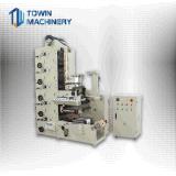 Automatischer Warenzeichen-Aufkleber-flexographische Drucken-Maschine des Kennsatz-1-8color