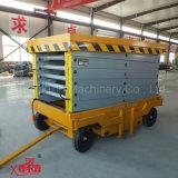 4-11m 500kg China Venta caliente la máxima calidad de la plataforma de elevación de tijera móvil telescópica con Ce Certificación ISO