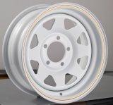 (5-114.3) белая оправа колеса трейлера 15X10