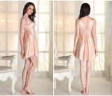 """Pijamas de seda """"sexy"""" Sy10307707 das mulheres por atacado do Nightwear da roupa de noite"""