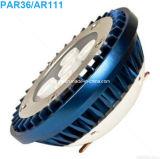 광속 각 여러가지 크리 사람 LED PAR36/AR111 조경